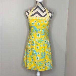 Lilly Pulitzer Yellow Monkey Dress